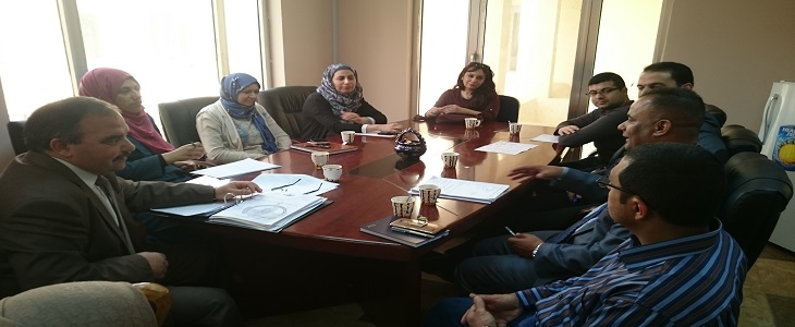 اجتماع حول نظام تسجيل الطلبة الموحد