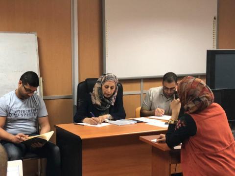 ورش عمل في مركز الحاسبة الالكترونية جامعة النهرين