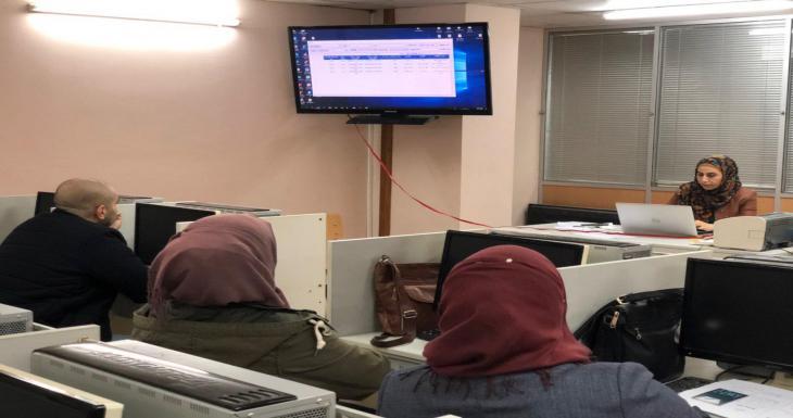 ورشة عمل مركز الحاسبة الالكترونية جامعة النهرين